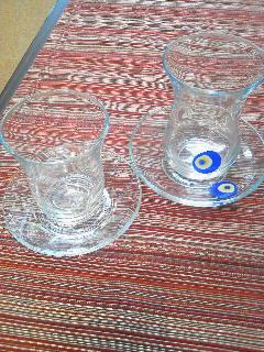 トルコのチャイカップ入荷しました